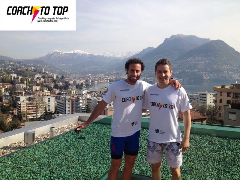 Jorge Lorenzo y Coach to top